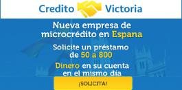 Créditos rápidos online - Credito Victoria