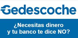 créditos sin intereses ni comisiones - Gedescoche