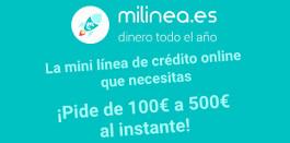 Préstamo 500 euros - Milinea