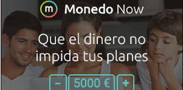 Solicitar préstamos rápidos en Monedo