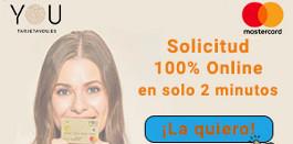 Solicitar préstamo rápido con la tarjeta de crédito You