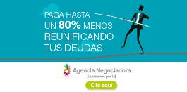 Reunificación de deudas - Agencia negociadora