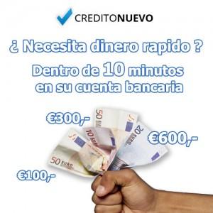 Solicita créditos rápidos online hasta 600 euros en Creditonuevo