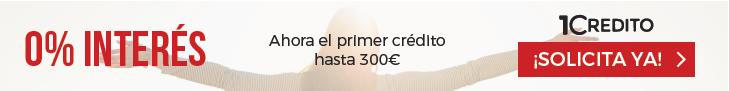 1Credito - Primer préstamo gratis