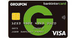 Tarjeta de crédito Bankintercard Groupon
