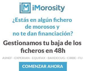Baja ASNEF - iMorosity