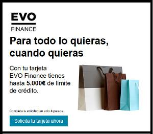 Tarjeta Inteligente Evo Finance