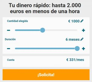 Cashperplus - Préstamos de 2000 Euros