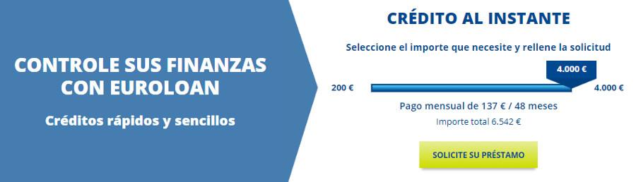 Euroloan - Préstamos rápidos y línea de crédito