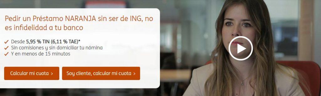 Préstamo Naranja ING Direct