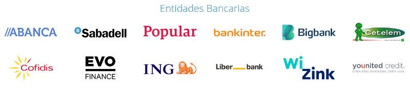 Kreditiweb - Entidades bancarias